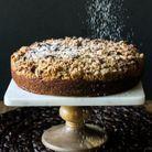 Crumb cake au potiron