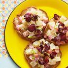 Champignons rôtis et salade de pommes de terre