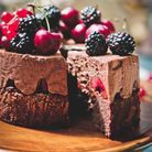 Dessert au chocolat original : forêt noire aux fruits