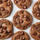 Cookies au Nutella et pépites de chocolat
