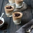 Panna cotta café vanille