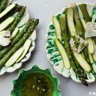 Salade De Courgettes Et Asperges