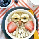 Porridge hibou