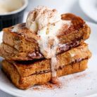 French toast façon cappuccino