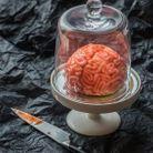 Gâteau Halloween cervelle