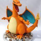 Gâteau Pokémon Dracaufeu