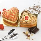 Gâteau Saint-Valentin La Tarte Tropézienne