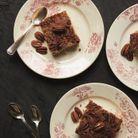 Gâteau noix de pécan et épices