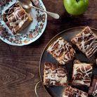 Gâteau épicé aux pommes et à la poire