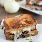 Grilled cheese aux oignons