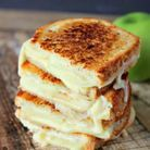 Grilled cheese pomme gouda