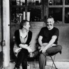Véro et Fanfy Pénalva cuisinent le week-end au Petit Ribier, le restau de l'Écomusée l'Olivier, à Volx.