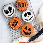 Sablés d'Halloween au chocolat
