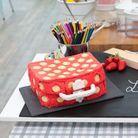 Le gâteau cartable de Valériane