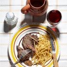 Le cultissime steak-frites