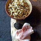 Grosses coquillettes aux truffes