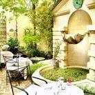 L'Hôtel, la terrasse plus confidentielle