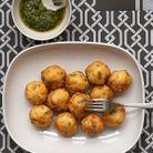 Croquettes En Vinaigrette Au Curry