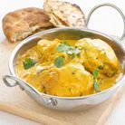 Menu de printemps : Curry Poulet