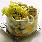 Menu de printemps : Salade artichauts