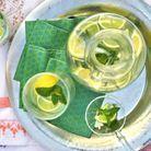Cocktail Citron Menthe Gingembre