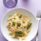 Cuisine recette minceur grand chef mauro colagreco pates asperges artichaud