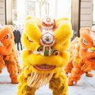 Un défilé et des festivités au Shangri-La Hôtel pour faire fuir les mauvais esprits