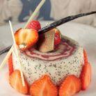 Roule pavot fruit rouge