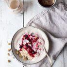Porridge aux baies séchées