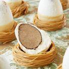 Oeuf de Pâques en chocolat Hugo & Victor