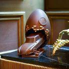 Oeuf de Pâques en chocolat Le Crillon