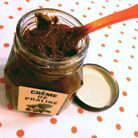 Crème de praliné au sel fumé et pistaches Chapon