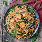 Pad thaï crevettes