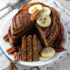 Pancakes healthy au potiron