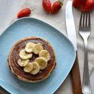 Pancakes healthy aux œufs en neige