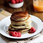 Pancakes healthy banane