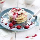 Pancakes healthy fromage blanc