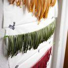 Tagliatelles tricolores