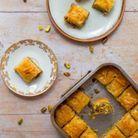 Baklawa aux pistaches et miel
