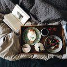 Petit-déjeuner au lit healthy : Eggtoast