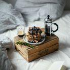 Petit-déjeuner au lit livraison : Gaufres