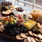 Plateau de fromage et charcuterie sans gluten