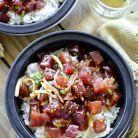 Poke bowl thon et riz blanc