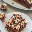 Poke cake aux chamallows