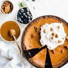 Pumpkin pie cacao gingembre