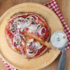 Pizza sans gluten pommes de terre