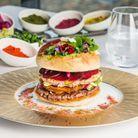 Le burger fleuri à Lyon