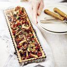 Gâteau-tarte aux champignons