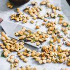 Graines de courge delicata rôties