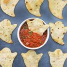 Chips fantômes de tortillas